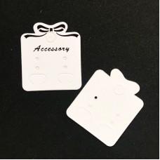Карточки-держатели для сережек