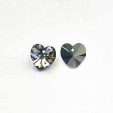 Heart Crystal Light Chrome