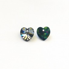 Heart Crystal Rainbow Dark